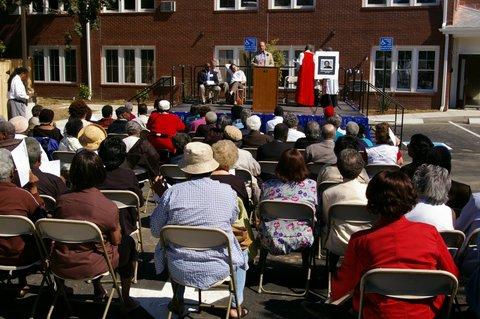 Dedication of the Josephine Gray Senior Housing Complex