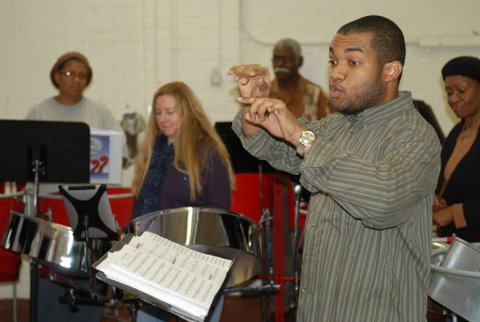 The Steel Band (Tenant) at Practice